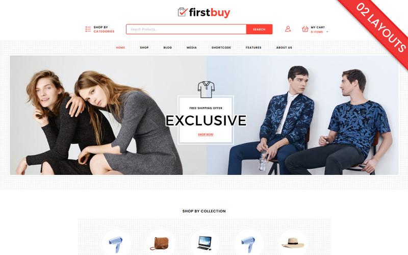 Firstbuy - Тема WooCommerce по электронике и моде