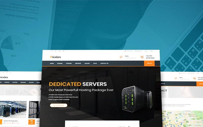 Pixxles - Multipurpose Website Template