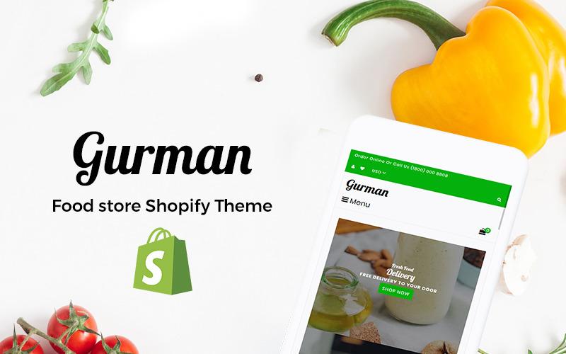 Тема Gurman Shopify