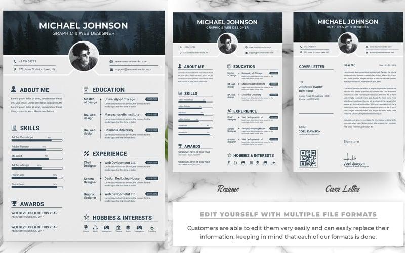 Graphics Resume Template