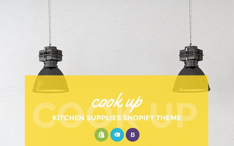 Cook Up - Shopify Тема для магазина кухонных принадлежностей