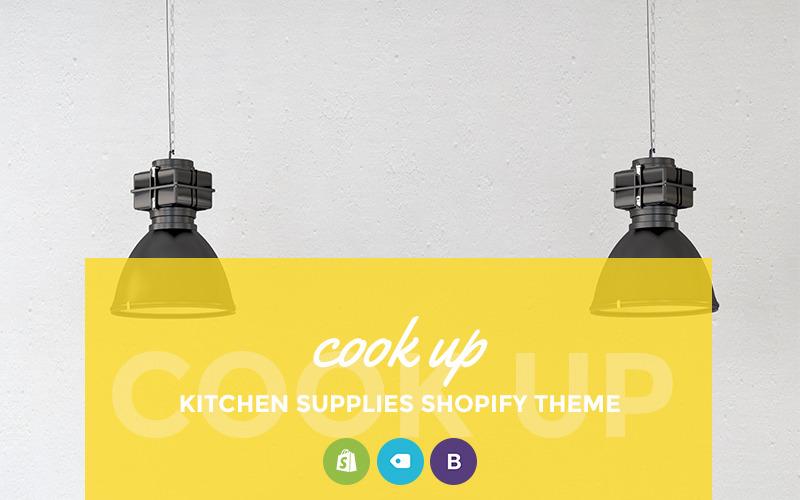 Cook Up - Tema Shopify de la tienda de suministros de cocina
