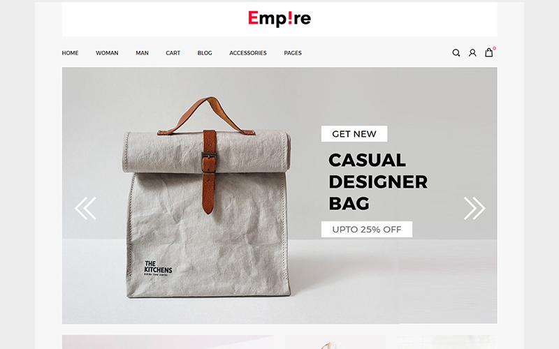 Empire - Fashion   Accessories ZenCart Template