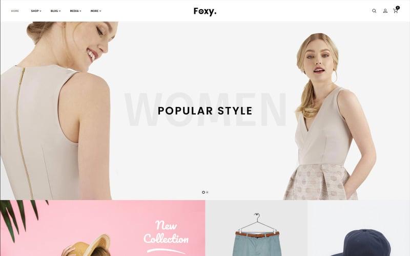 Foxy - Fashion Accessories WooCommerce Theme