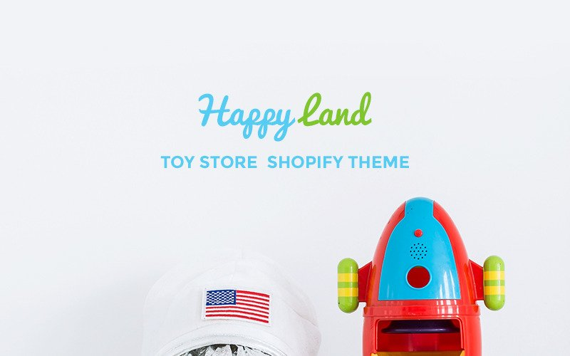 Happy Land - Toy Store Shopify Theme