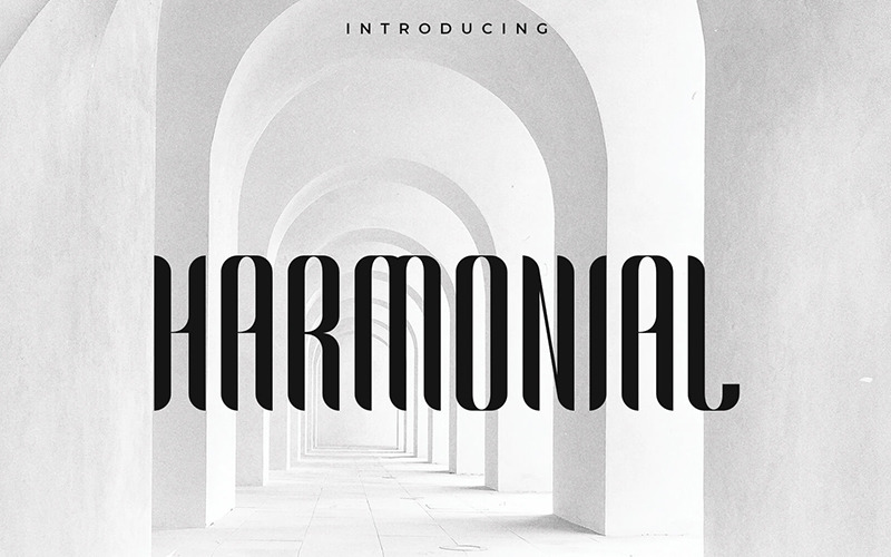 Harmonial  Family - Sans Serif Font