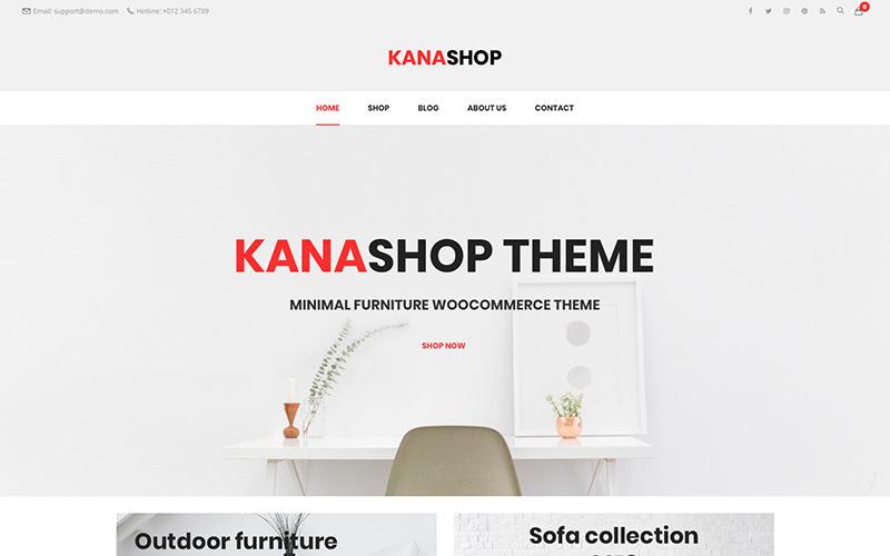 Kanashop - Minimalist Furniture WooCommerce Theme