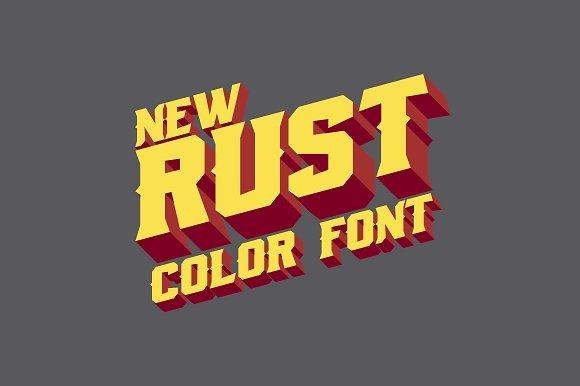 Rust Font
