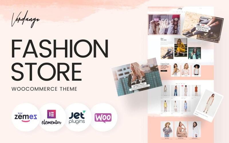 Verdango - Fashion Store Elementor WooCommerce Theme