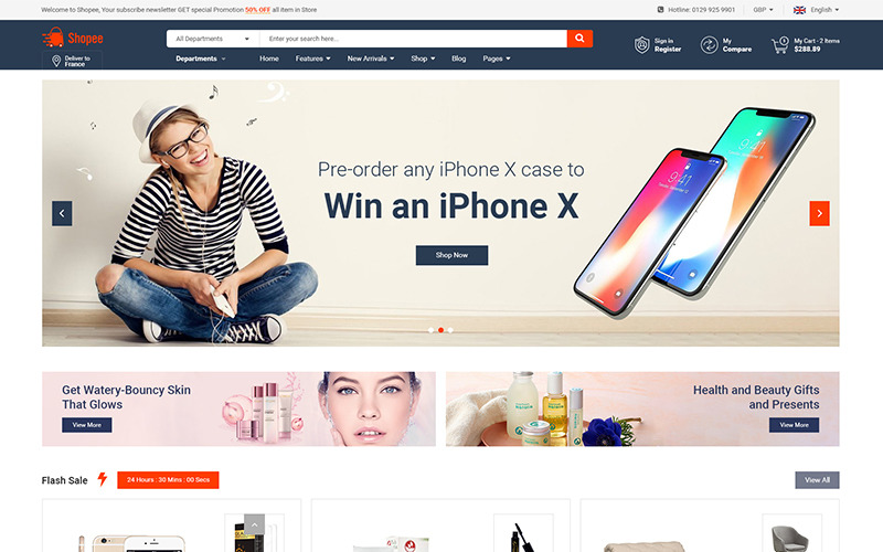Shopee - Premium Marketplace reattivo