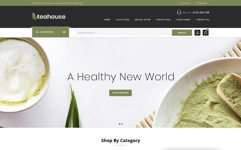 Чайный домик - тема PrestaShop для многоцелевого магазина