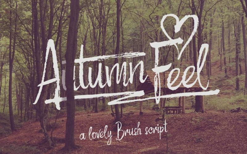 Czcionka Autumn Feel
