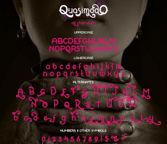 Quasimodo Font