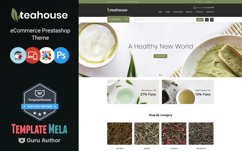 Teahouse - uniwersalny motyw sklepu PrestaShop