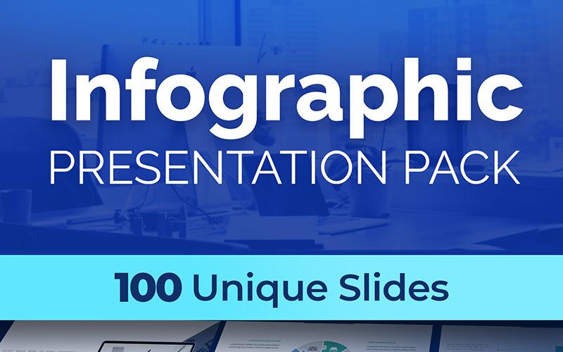 Plantilla de PowerPoint - paquete de presentación de infografía