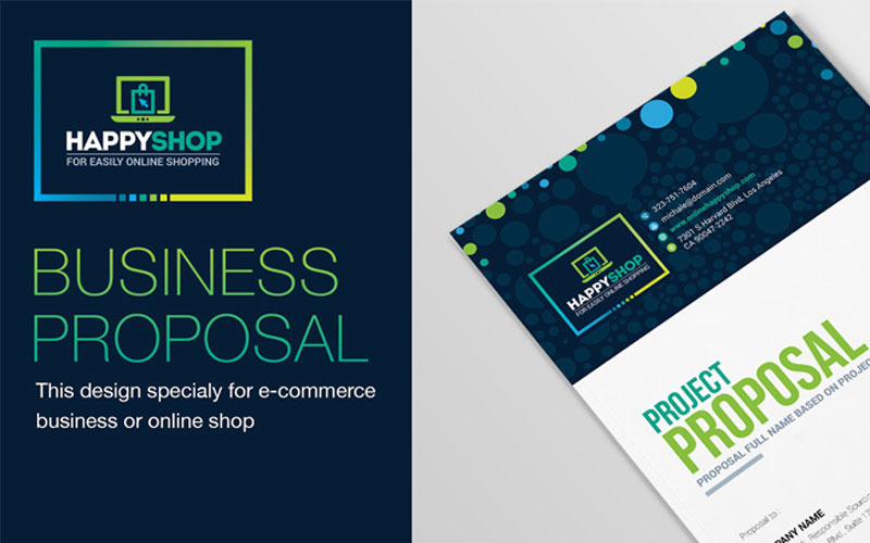 E-Commerce Business Project Proposal - Corporate Identity Template