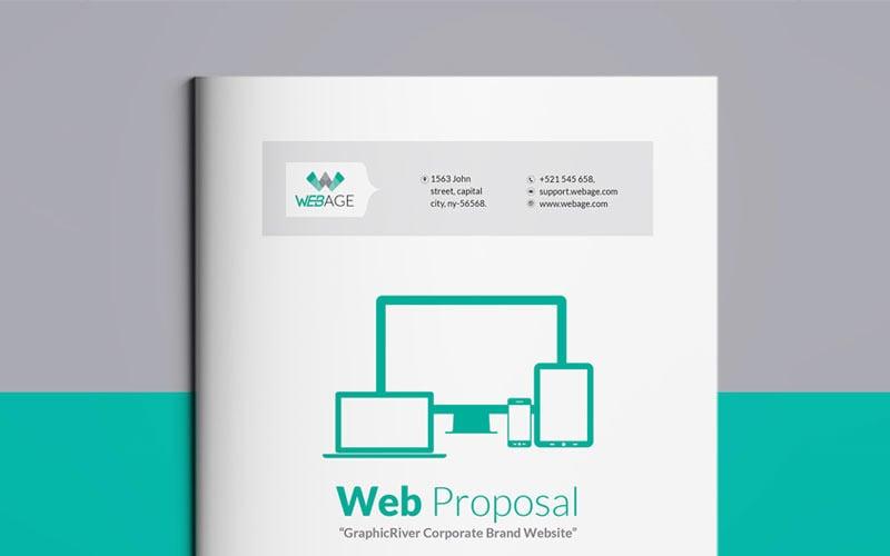 Website Proposal - Corporate Identity Template