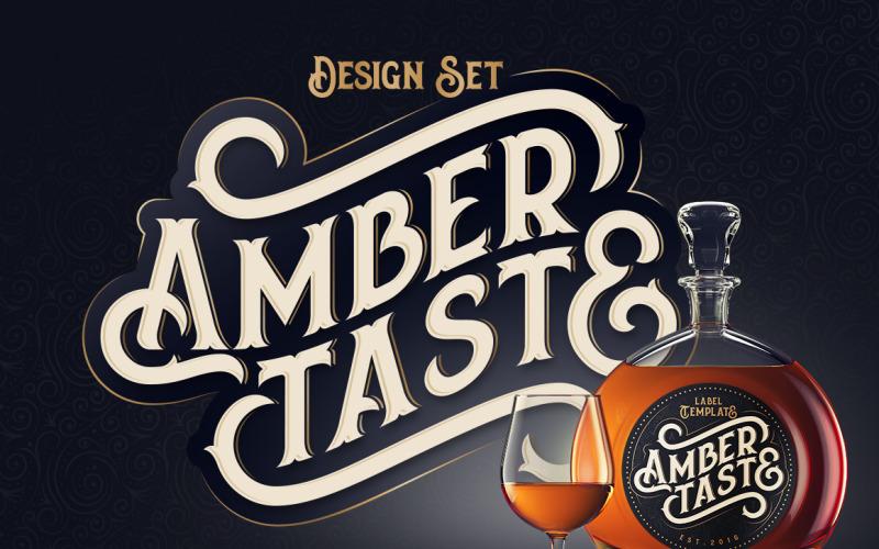 Amber Taste betűtípus