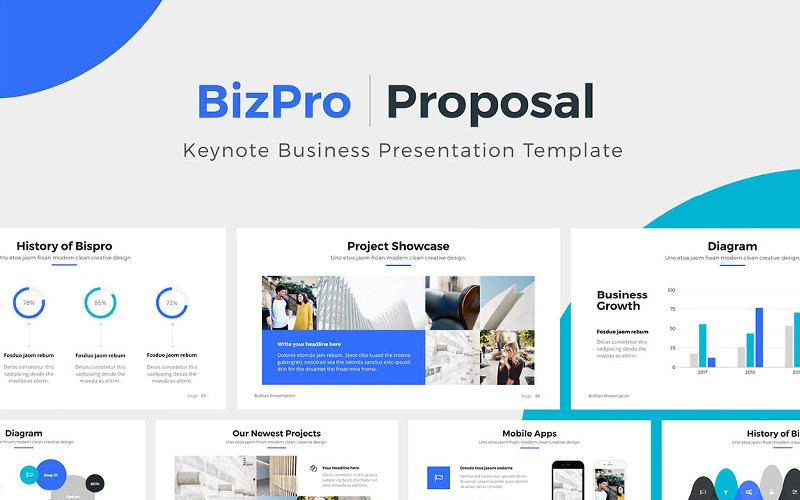 BizPro - Propuesta - Plantilla de Keynote