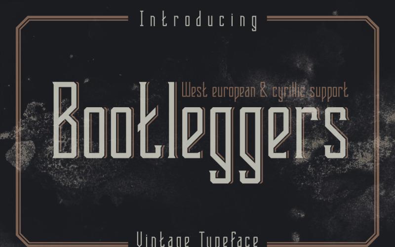 Bootleggers字体
