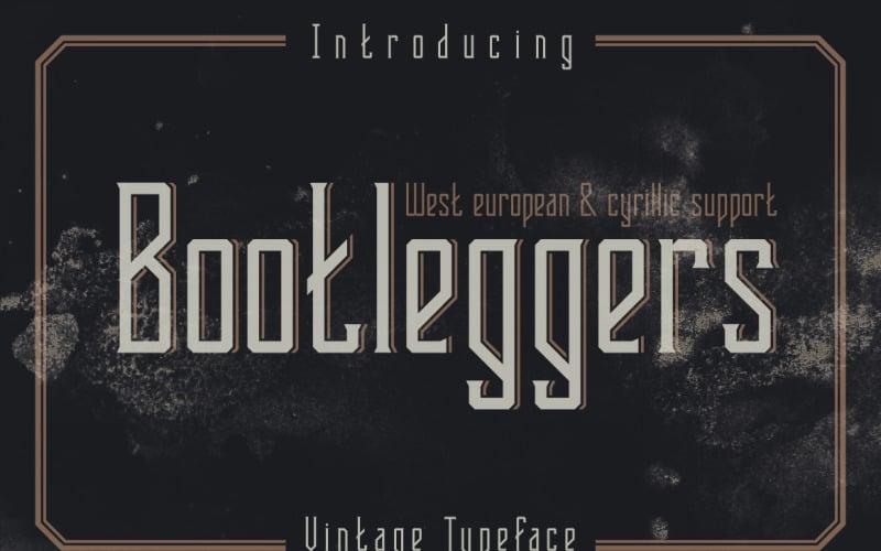 Bootleggers Schriftart