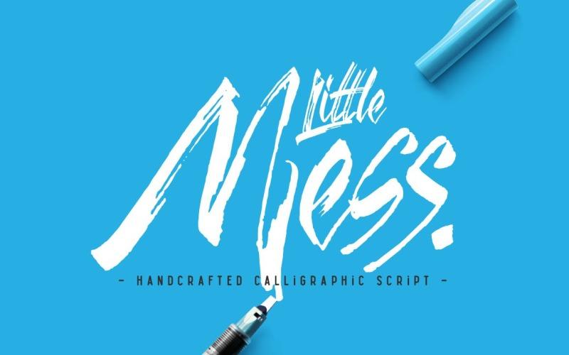 Little Mess Yazı Tipi