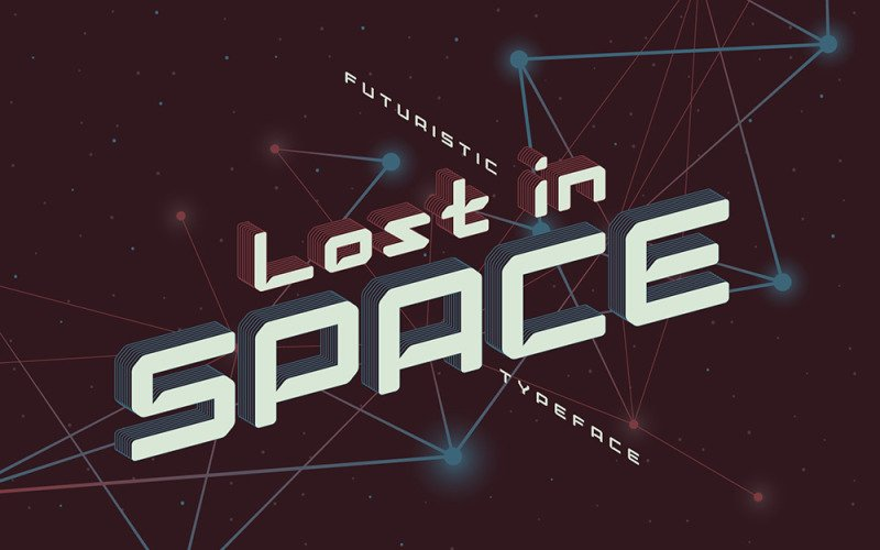 Lost in Space Font