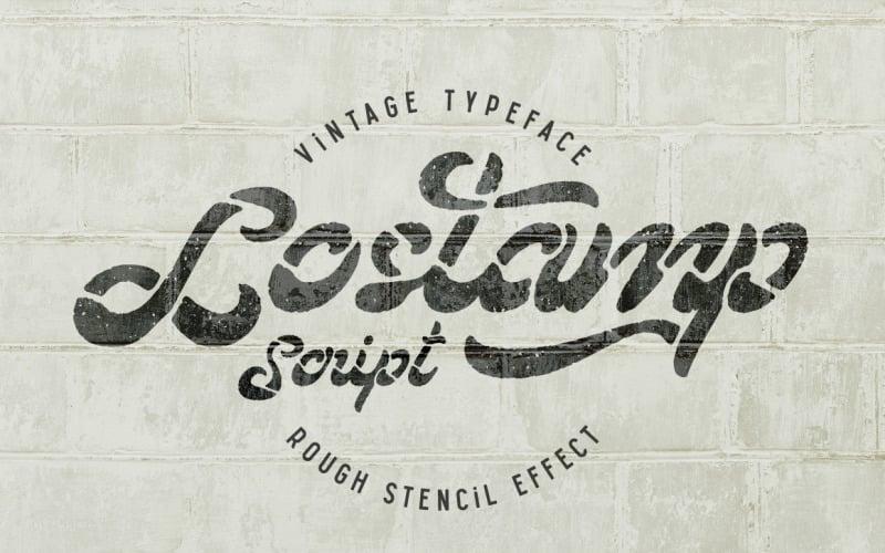 Lostamp-lettertype