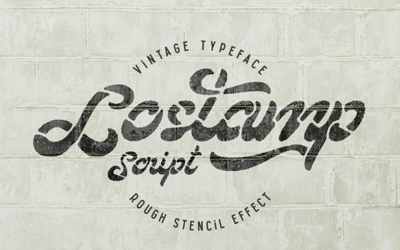 Lostamp字体