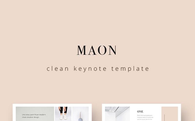 MAON - Keynote template