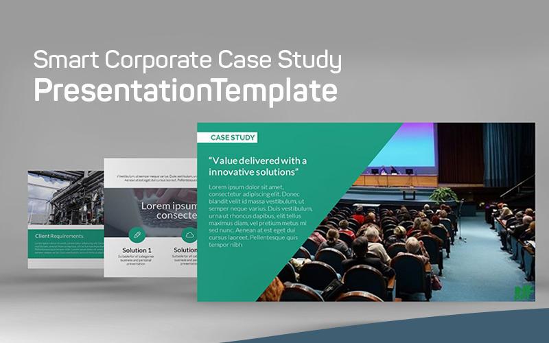 Nowoczesne studium przypadku - szablon programu PowerPoint