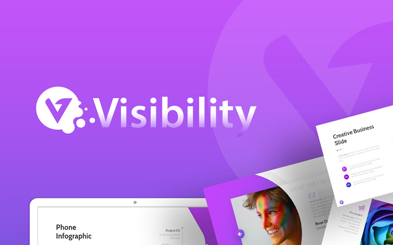 Visibility - Creative PowerPoint Template