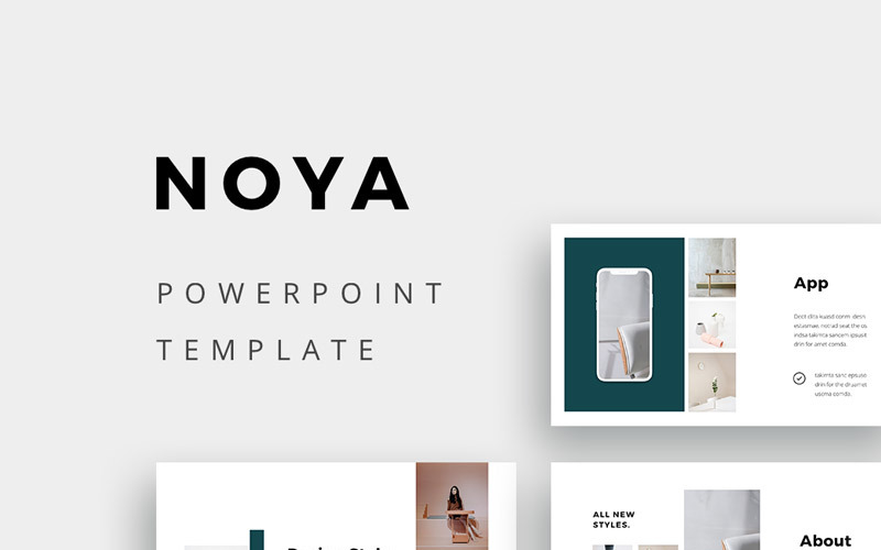 NOYA - шаблон PowerPoint