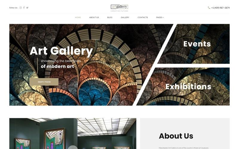 artgallery - Art Responsive Elegant Joomla Template