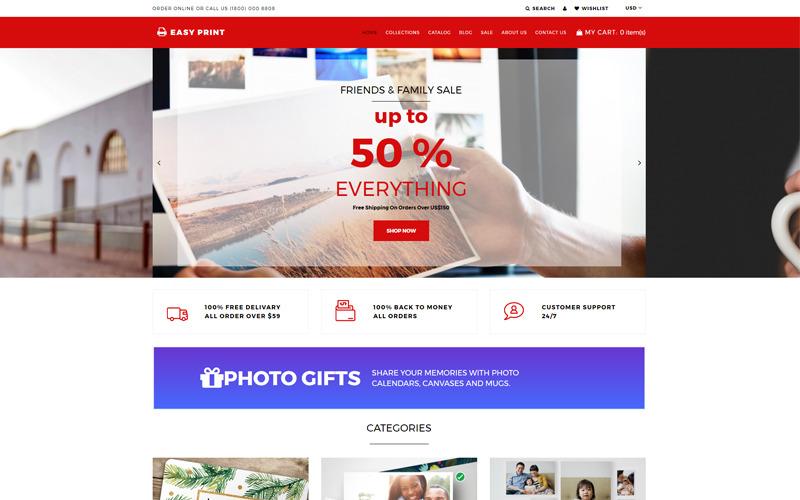 Easyprint - Skriv ut multikurrency Simple Shopify-tema