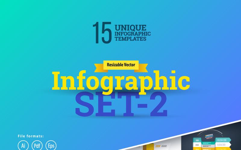 Більшість із них використовують елементи інфографіки 3D Set-2