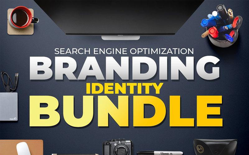 SEO (Search Engine Optimization) Mega Branding Stationery Identity Bundle