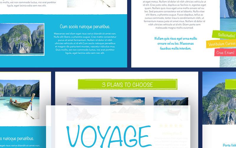 Voyage - Plantilla de Keynote