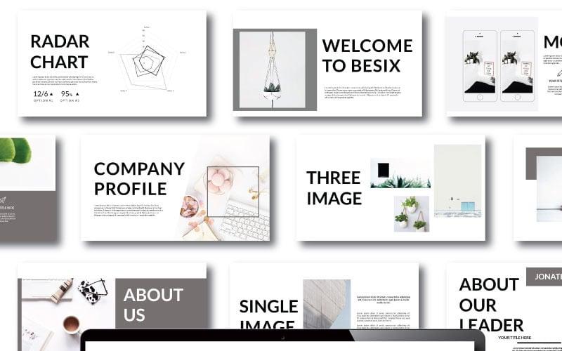 Besix - Plantilla de Keynote