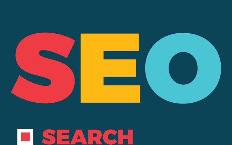 Infografikelemente zur Suchmaschinenoptimierung