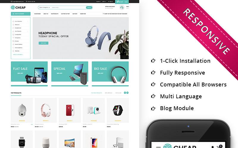 Дешево - Электронная тема PrestaShop