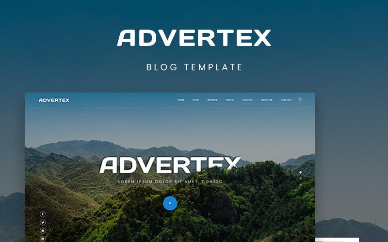 Advertex - тема WordPress для личного блога о путешествиях