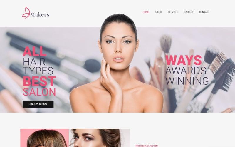 Makess - Beauty Salon Multipurpose Classic WordPress Elementor Theme