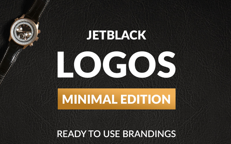 30 Premade Logos - Minimal Edition Logo Template