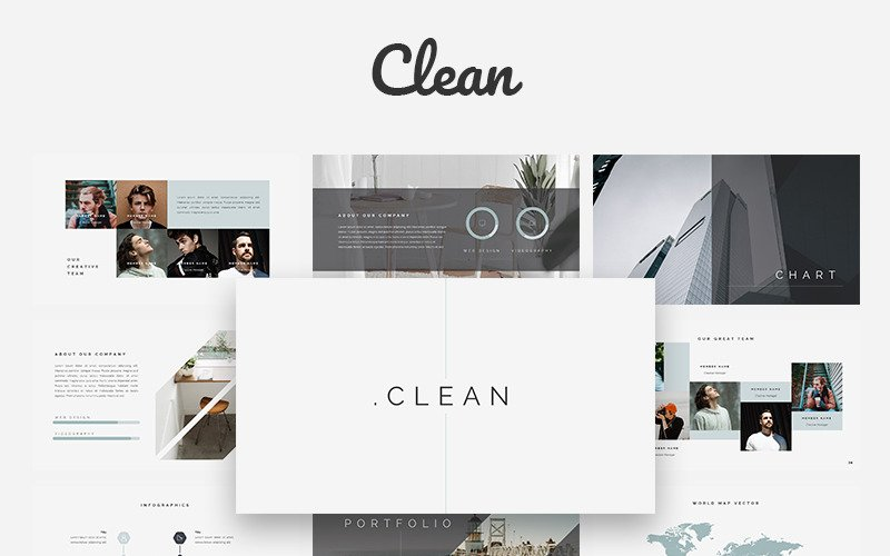 Clean Creative - Keynote-Vorlage