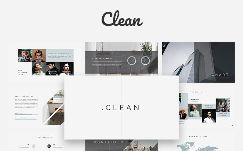 Clean Creative - modelo Keynote