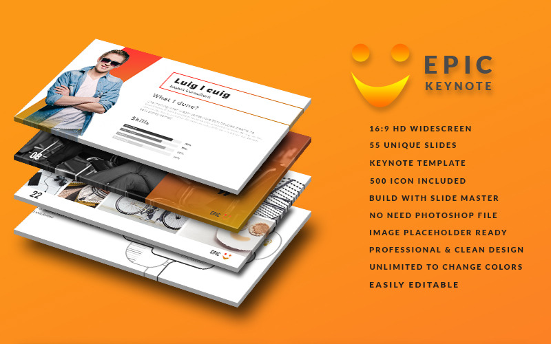 Epic - Keynote template