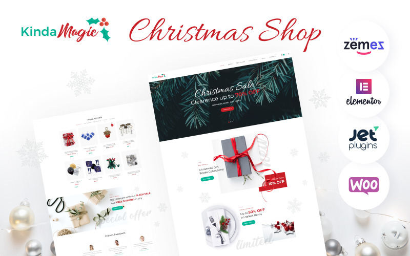 Kinda Magic - Magical And Inspiring Christmas WooCommerce Theme