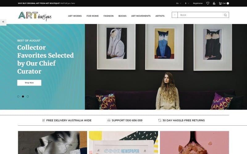 ARTboutique - Тема PrestaShop для електронної комерції Art Bootstrap E-Commerce