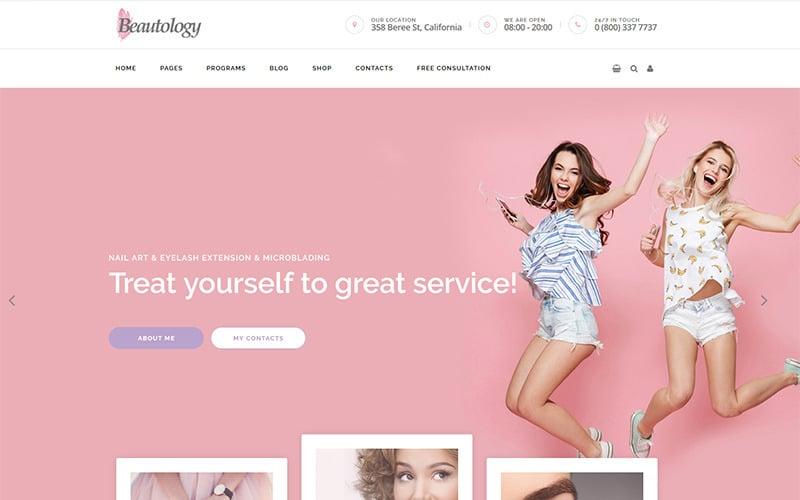 Beautology - WordPress тема по теме Здоровье, питание и красота